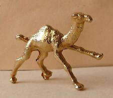 Fève en métal doré - Les Animaux - années 90 - Le Dromadaire