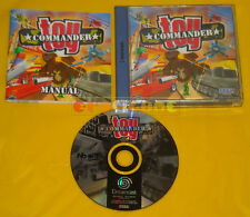 TOY COMMANDER Sega Dreamcast Dc Versione Europea PAL »»»»» COMPLETO