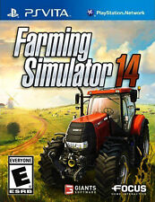 Farming Simulator 14 (Sony PlayStation Vita, 2014) GAME / CART ONLY