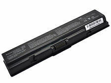 6 Cell Battery for Toshiba Satellite L505 L505D L550 L555 L555D M200 M205 Black