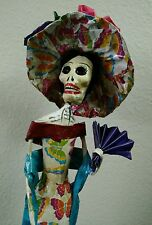Catrina *Day of the Dead* Dia de los Muertos Doll Made in Mexico 16 inches