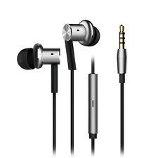 Hot XIAOMI iron Earphones Hybrid Dual In-Ear Wired Control Headphone Multi-Unit