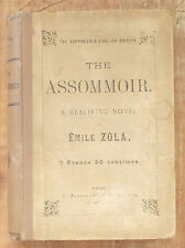 Vintage THE ASSOMMOIR: A NOVEL by Emile Zola SUPPRESSED ENGLISH EDITION