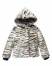 JUICY COUTURE FAUX FUR ZIGER JACKET ORG. $198.00 SIZE 6-7 BNWT