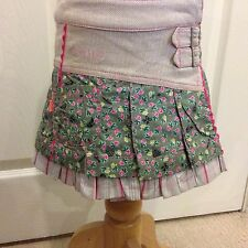 BNWT Gorgeous OILILY TILLY Floral KILT Skirt with Pleats & Frills 12-18M 80