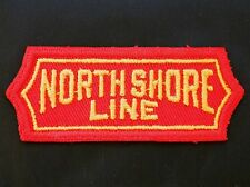 Vintage Chicago North Shore & Milwaukee Line Railroad RR Patch