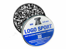 Air gun pellet Diabolo H&N Logo Sport Pellets cal.177 4.5 mm 500 pcs. 0.53 g