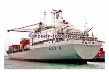 ra0001 - ACT Container Ship - ACT 6 - photograph