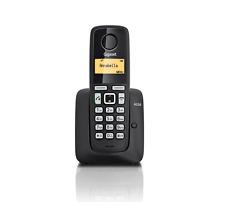 Siemens Gigaset A220 / A 220 analog schnurlos Telefon schwarz