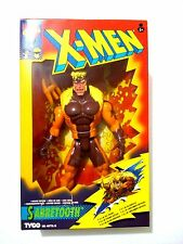 """SABRETOOTH MARVEL COMICS X-MEN DELUXE EDITION 10"""" TYCO 1994 Mint In Box"""