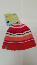 Smartwool Infant Bootie Hat - Size 12 to 24 months - Bright Coral (Pink) - New