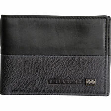 Men's Billabong Exchange Black Slim Leather Wallet. RRP $29.99. NWOT.