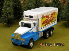 Die Cast Supermarket Delivery Cargo Truck O Scale 1:48
