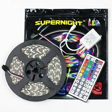 SUPERNIGHT 16.4FT SMD 5050 Waterproof 300LEDs RGB Flexible LED Strip Light Lamp