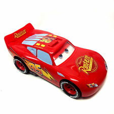 """Disney Pixar CARS  Massive LIGHTNING MCQUEEN 15"""" long with sound & actions"""