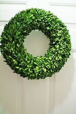 "New 24""  Preserved Boxwood  Round 24"" wreath Beautiful Home Natural Wreath"