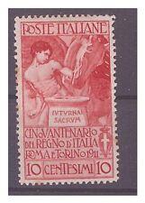 REGNO 1911  -  UNITA'   D'ITALIA      CENTESIMI 10   NUOVO    **