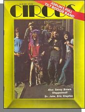 Circus - 1970, October - Janis Joplin, Full Tilt Boogie Band, Clapton Interview