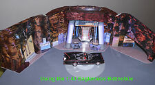 1:43 BATCAVE Diorama / 1966 Classic Batman series Batmobile Corgi 267 Adam West