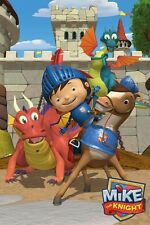 MIKE THE KNIGHT POSTER ~ DRAGONS 24x36 Cartoon Nickelodeon