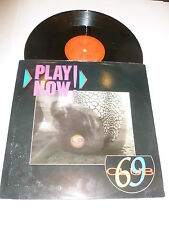 "CLUB 69 - Play Now! - Deleted 1990 UK Enteleky label 2-track 12"" vinyl single"