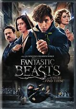 Fantastic Beasts and Where to Find Them (DVD 2017) NEW*Fantasy* SHIPS ON 03/28