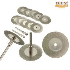 DIY Crafts®Diamond Saw Disc Blade Rotary Cutting Grinding Wheel Blade Tool-10pch