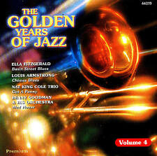 "THE GOLDEN YEARS OF JAZZ ""Volume 4"" CD 16 Tracks Compilation Neu & OVP"