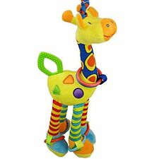 Cute Giraffe Infant Babys Toys Car Stroller Bed Crib Hanging Rattle with Teether