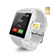 U8Plus Bluetooth Smart Watch Clock Android Phone Support SIM Card Pedometer
