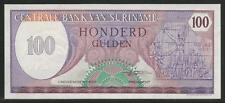 Suriname P-128 100 Gulden 1985 Unc