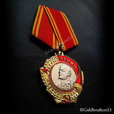ORDER OF LENIN RUSSIAN SOVIET USSR MEDAL MILITARY HIGHEST HONOR NEW RARE REPLICA