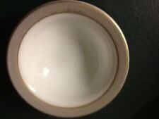 Mid Century PYREX CORNING Dove Gray Band 6.5 CEREAL/SOUP Bowl White Milk Glass