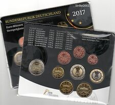 NEW !!! Euro GERMANIA 2017 ADFGJ in Folder Ufficiale NEW !!!