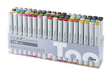 COPIC SKETCH MARKER - 72C SET - TWIN TIPPED - 72 UNIQUE COLOURS - MANGA MARKER