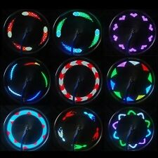 14 LED Bicycle Bike Motorcycle Cycling Wheel Signal Tire Spoke Light 30 Changes