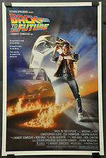 BACK TO THE FUTURE 27X41 1-SHT ROLLED ORIGINAL 1985 MOVIE POSTER MICHAEL J. FOX