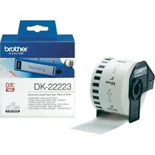 Brother P-touch DK-22223 (50mm x 30.5m) Continuous Paper Tape (White)