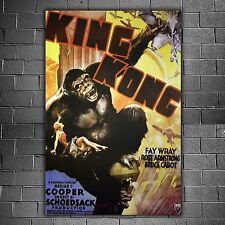 King Kong Film Poster 1933 - Formato: 68x98 CM