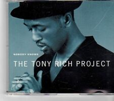 (FM83) The Tony Rich Project, Nobody Knows - 1996 CD