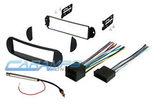 VW BUG CAR STEREO RADIO KIT DASH INSTALLATION MOUNTING TRIM BEZEL WIRING HARNESS
