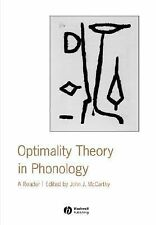 Optimality Theory in Phonology : A Reader by John J. McCarthy (2003, Paperba…