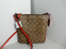 COACH - Brand new leather signature cross body