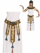 Deluxe Female Egyptian Costume Belt, Fancy Cleo Goddess Halloween Accessory