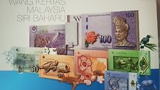 CCY~RM1, RM5, RM10,RM50,RM100 Premium SET Malaysia BANKNOTE,UNC,Same No0014 077