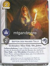 A Game of Thrones 2.0 LCG - 1x Septon des Hauses Tully  #015 - Wölfe des Nordens