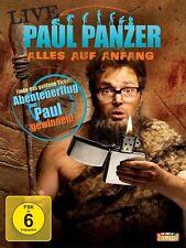 PAUL PANZER LIVE - ALLES AUF ANFANG!  DVD NEU