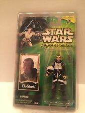 Hasbro Star Wars Power Of The Jedi BoShek Action Figure NIB POTJ Green Card