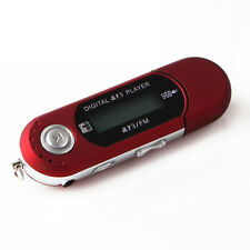 Portable USB MP3 Player Digitale LCD Unterstützung 32GB TF Card & FM Radio Rot