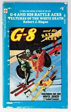 1971 pulp paperback G-8 AND HIS BATTLE ACES #5: VULTURES OF THE WHITE DEATH